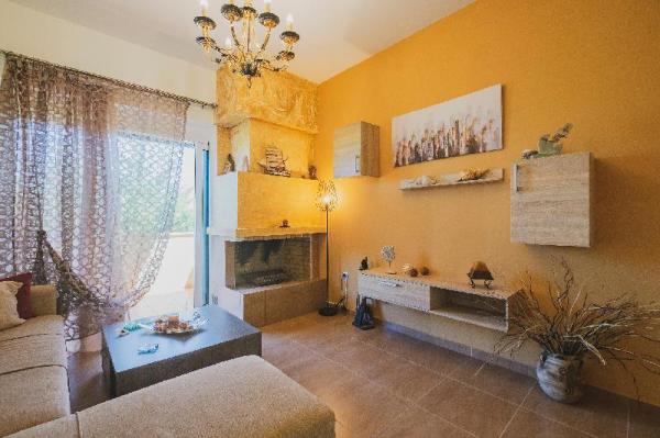 Family Summer 2-floor home with Outdoors near Sea Crete Island