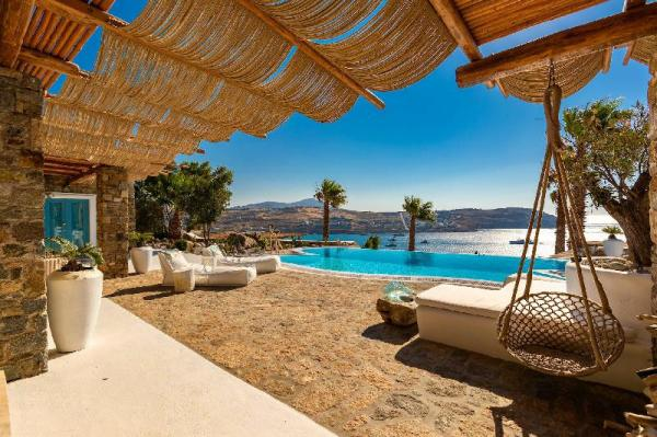 Villa Karkos | Private Pool | Stunning sea view Mykonos