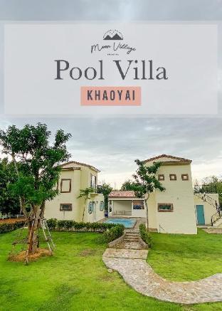[カオヤイ国立公園]ヴィラ(100m2)| 4ベッドルーム/4バスルーム Mono Moon Pool Villa