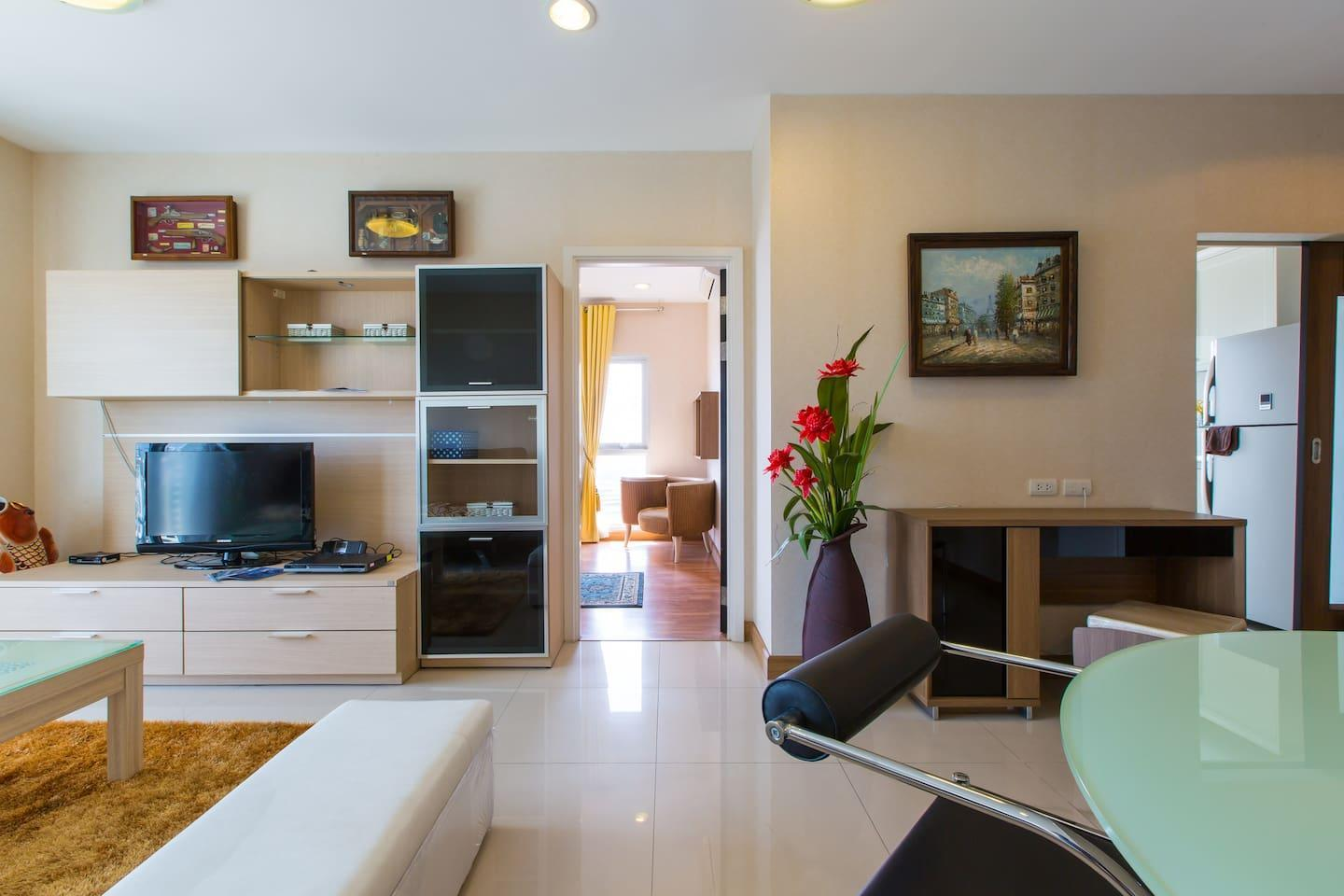 RiverfrontSuite 3 60sqm+Netflix+WIFI@Room And Pool