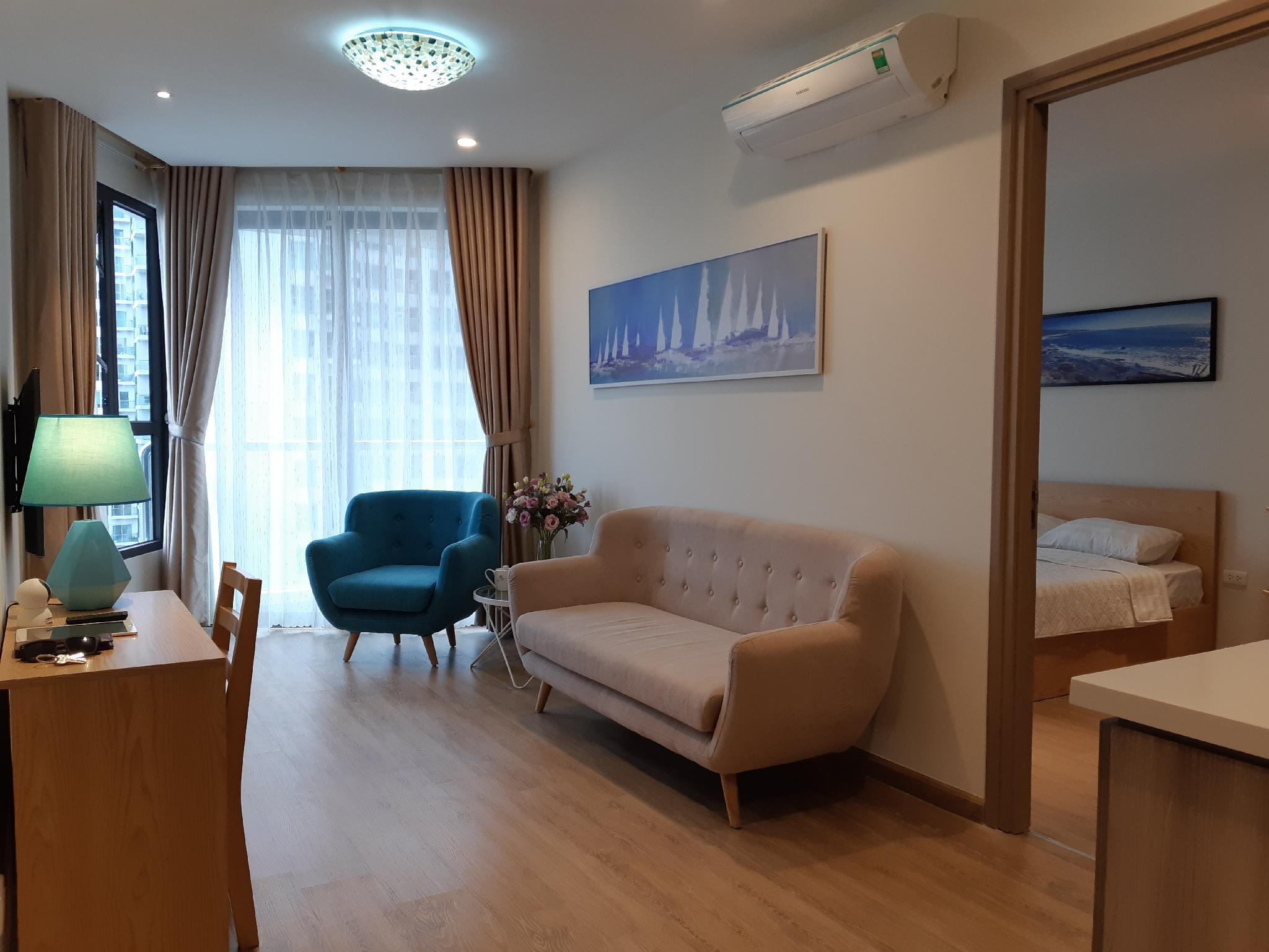 Blue Seaview Fully Equipped Apartment HL
