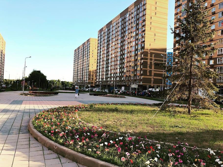 New Bright Flat Near Moscow