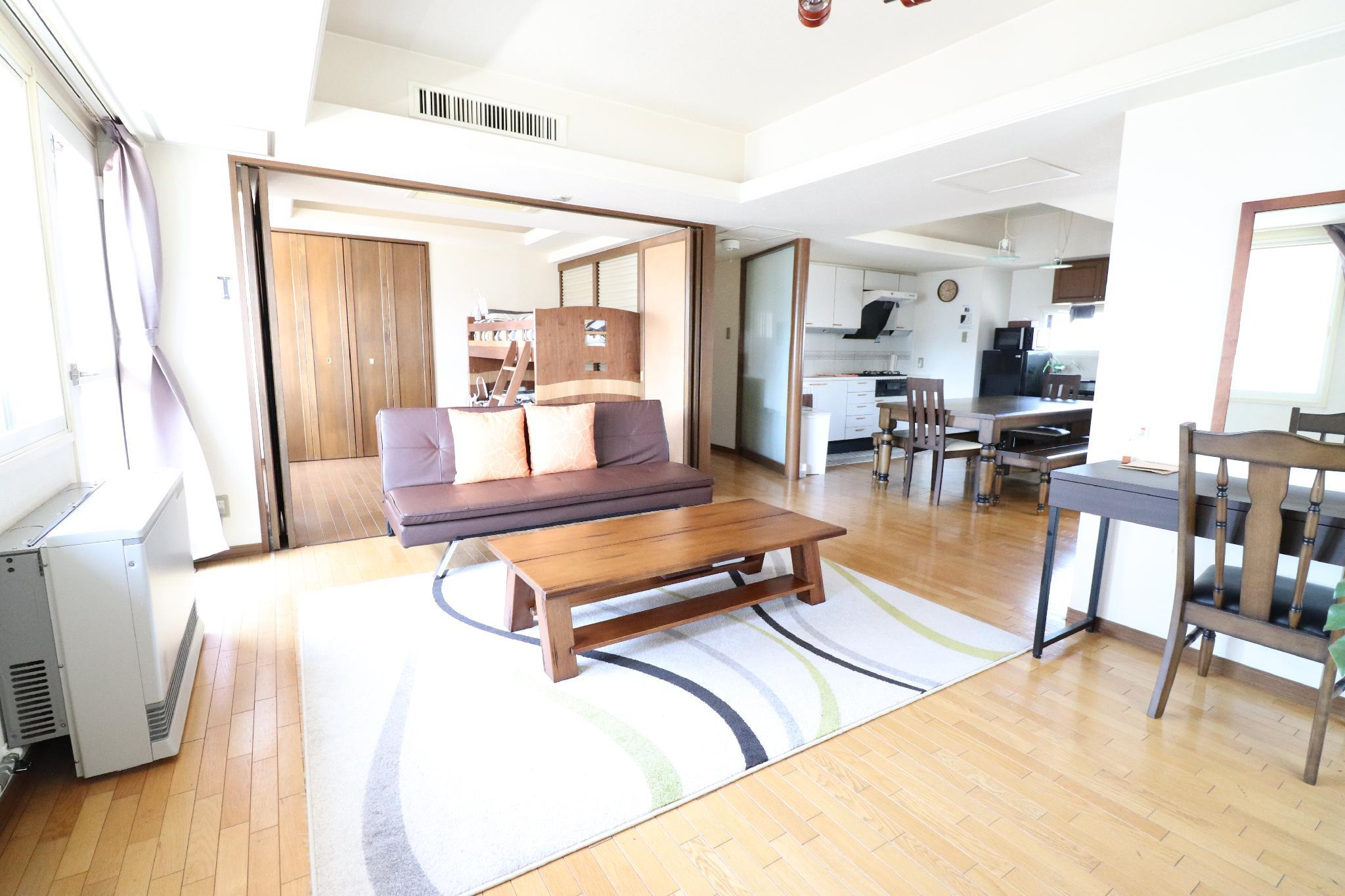 3BR 7bed Private Floor 13Person Fifth Floor