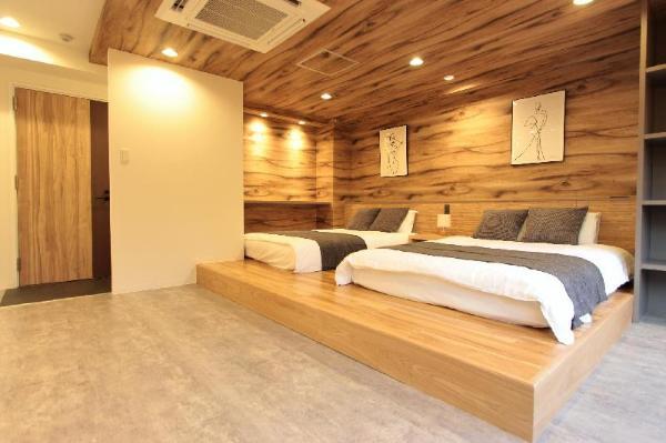 Designer room Easy access Free wifi 4PAX B Osaka