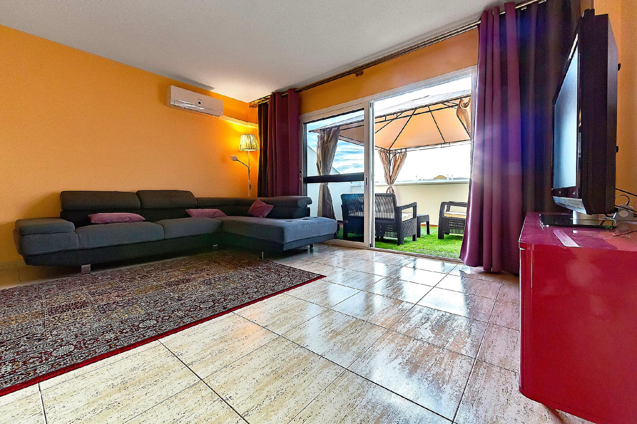 The Three Bedroom Apartment