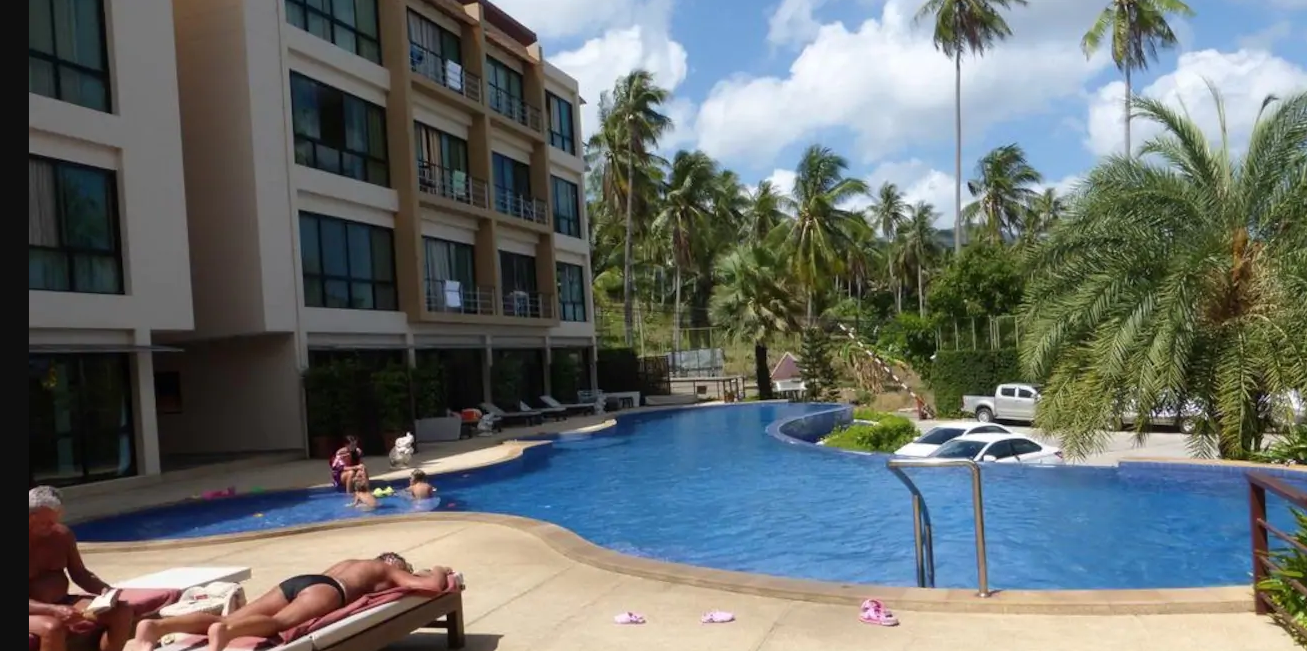 Maenam 1Bed  Condo with Kitchen Large pool and Gym Maenam 1Bed  Condo with Kitchen Large pool and Gym