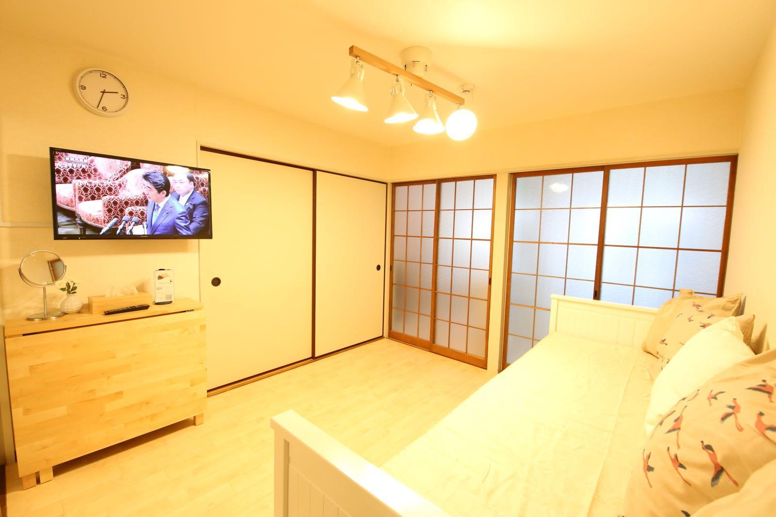 2 8ppl*4 D Bed Hse Near JR*Dobutsuenmae*2 P Wifi