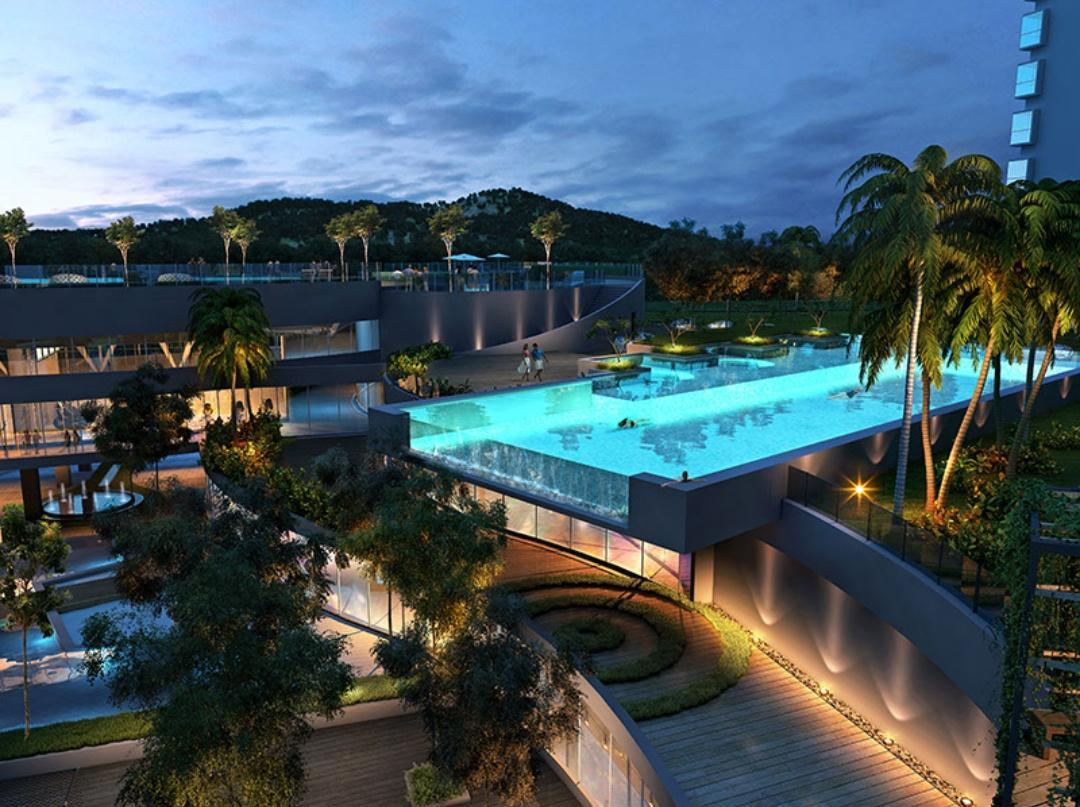 Superior Sea View Apartment Infinity Pool