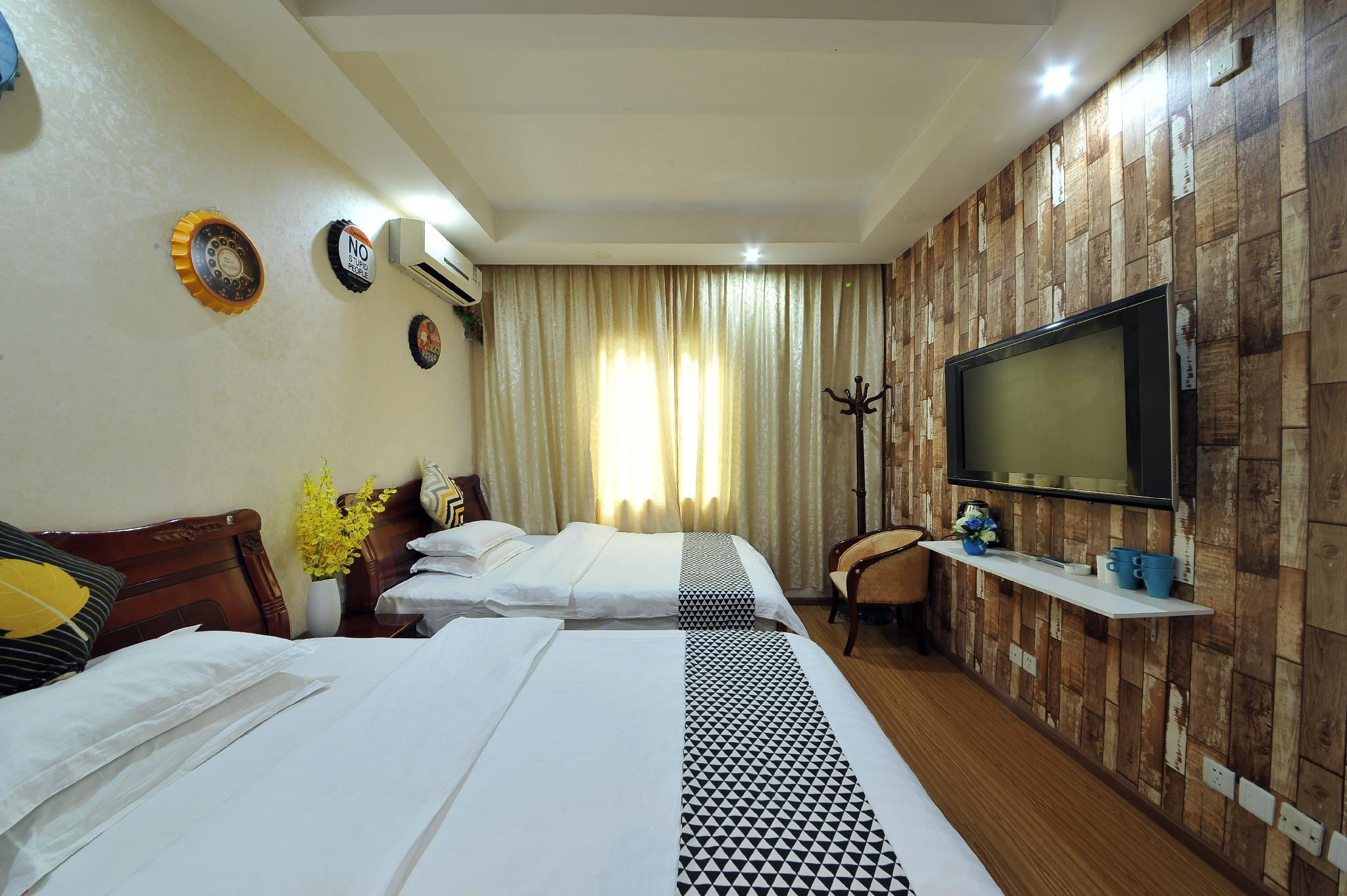 Price Theme twin room(24 hours free airport shuttle)
