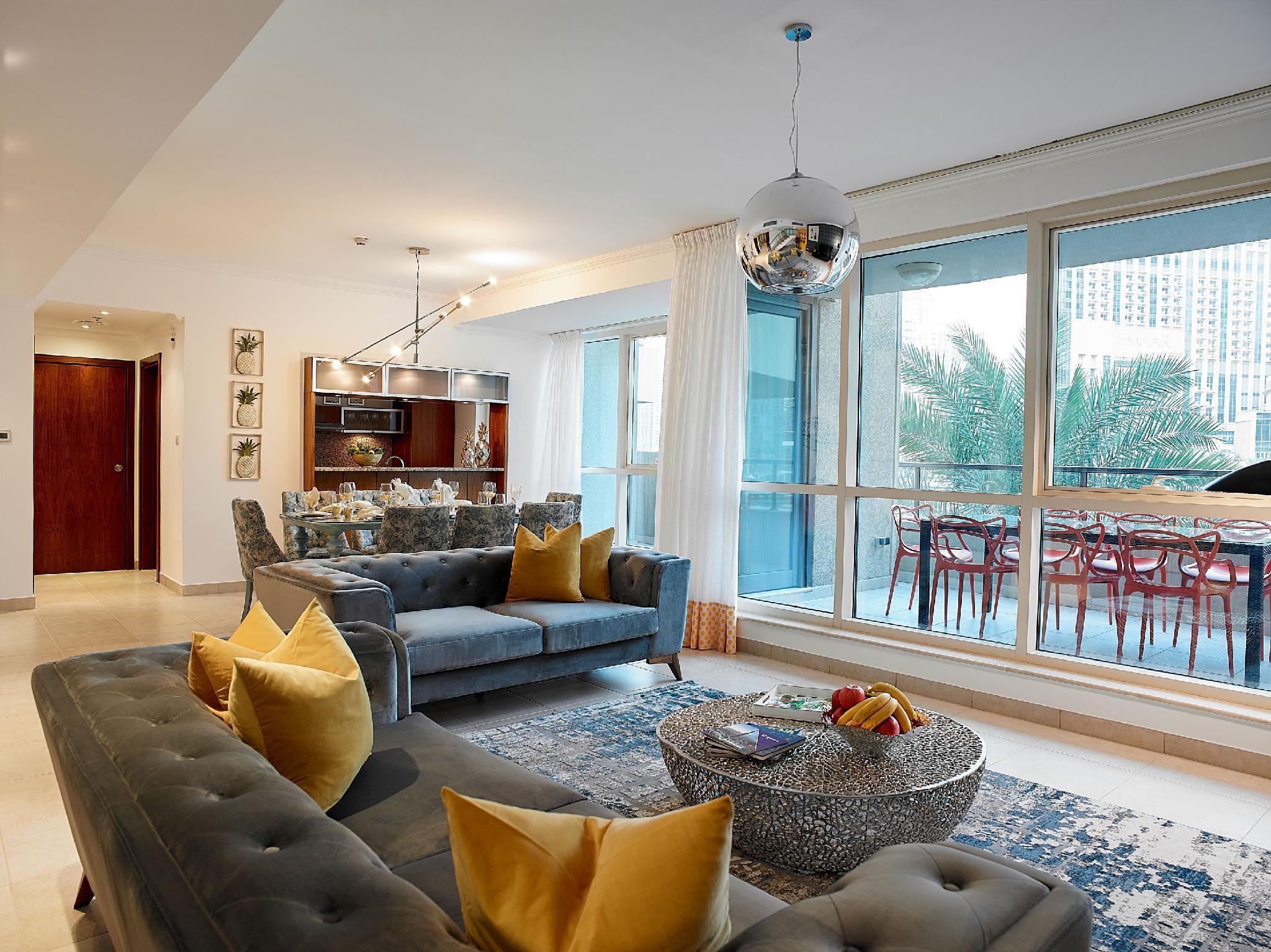 Dream Inn   Marina Quays 4BR Duplex Apartment