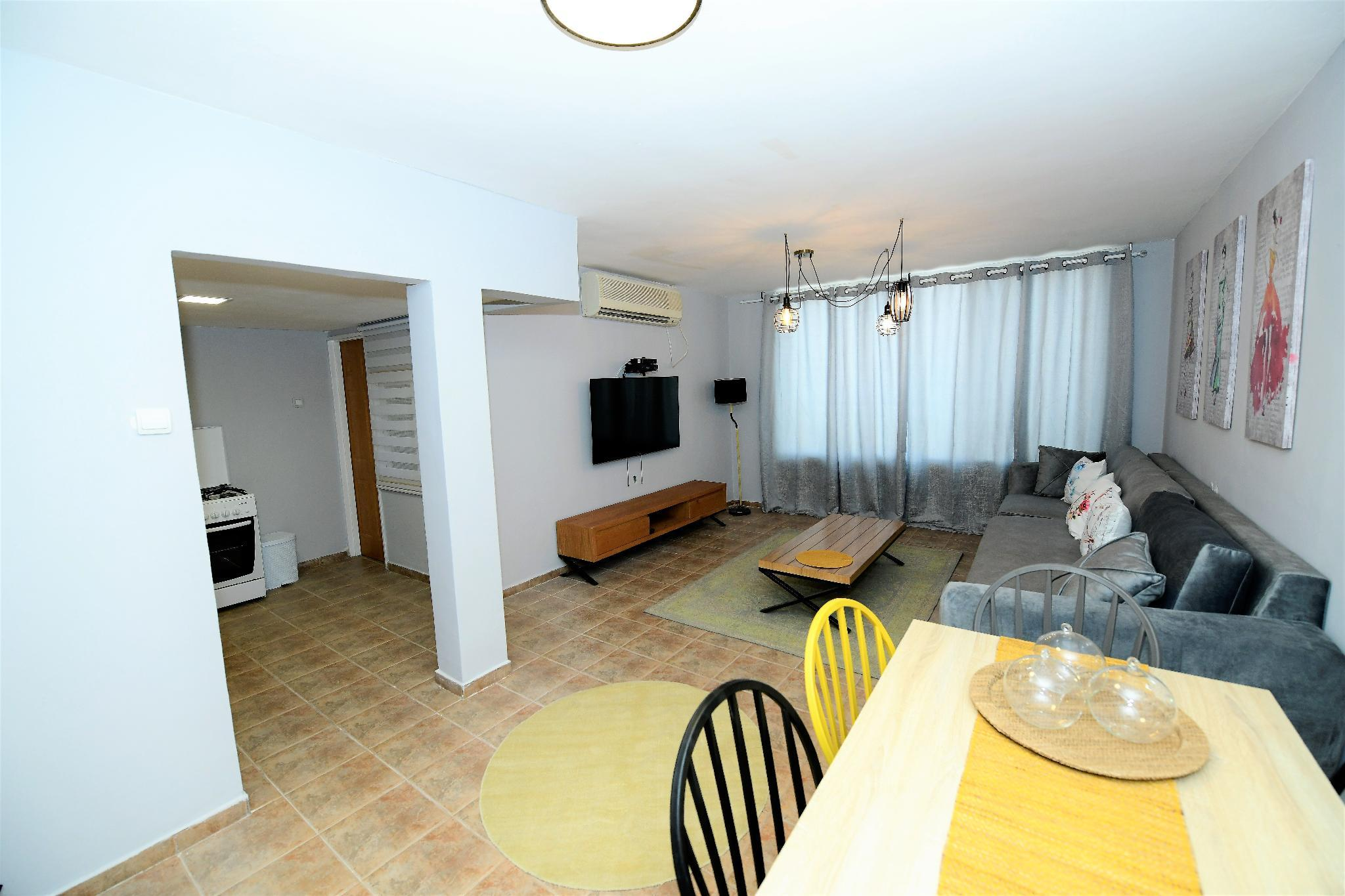 Sea View  2 Bedrooms In The Heart Of Eilat