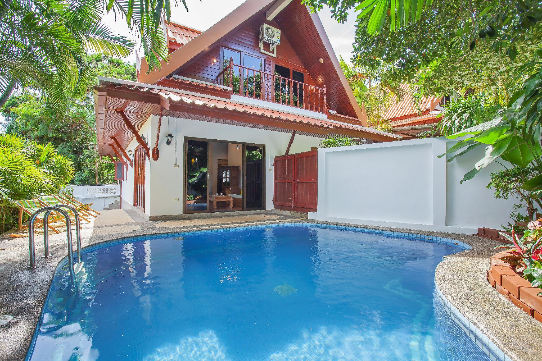 Villa Nikkie Classic Thai Pool Villa 500m To Beach