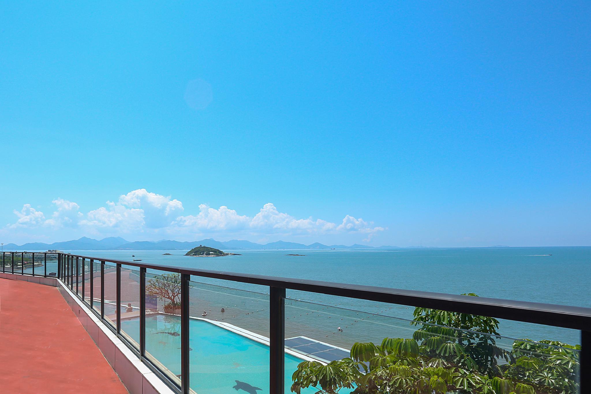 Review An apartment beside beach in Paopao sea of Huizhou