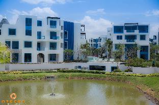 [ホアヒン ビーチフロント]アパートメント(100m2)| 2ベッドルーム/2バスルーム THE CREST SANTORA HUAHIN BY ATEERA (Luxury Class)B