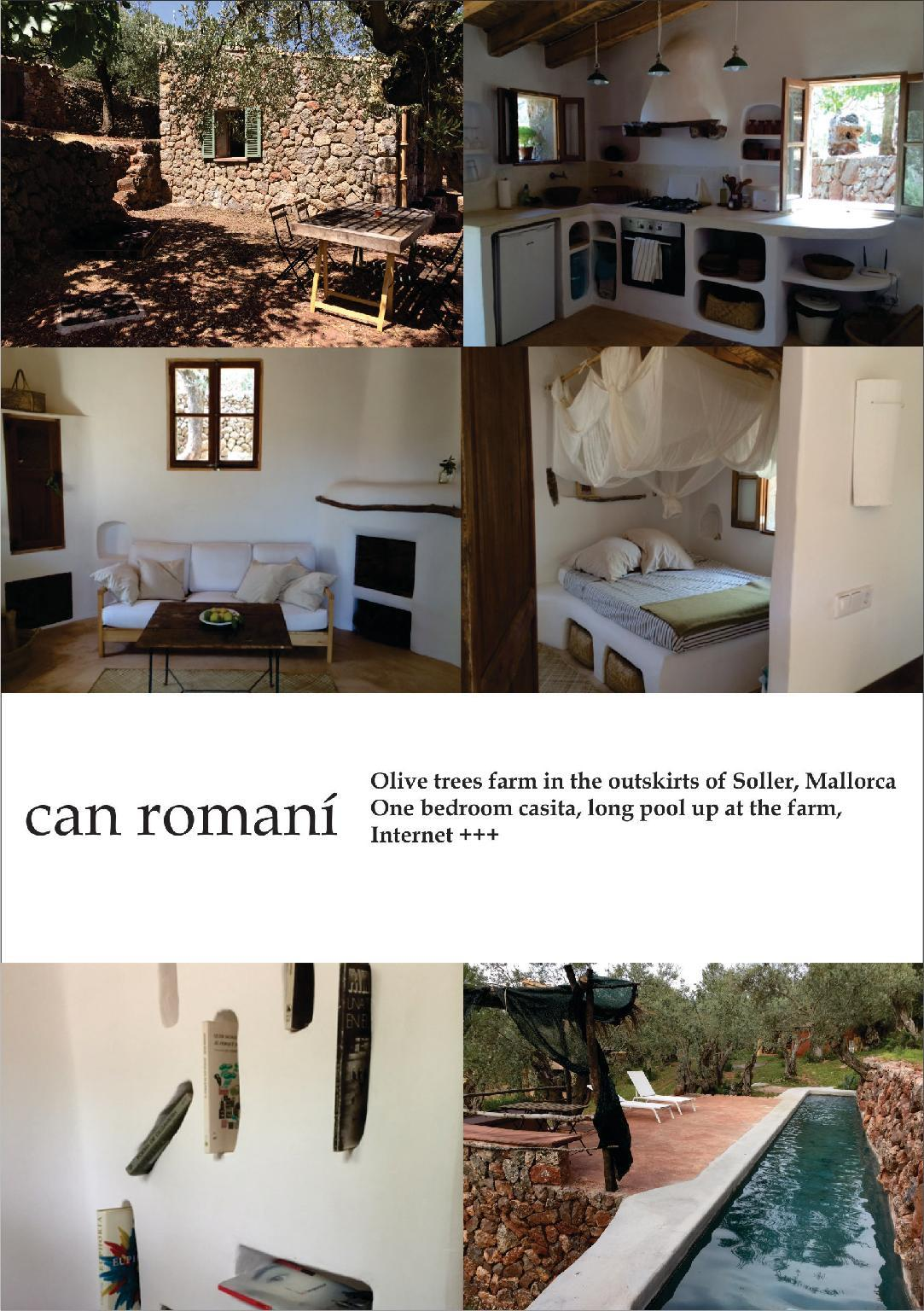 Casita In An Olive Trees Farm Named Can Romani