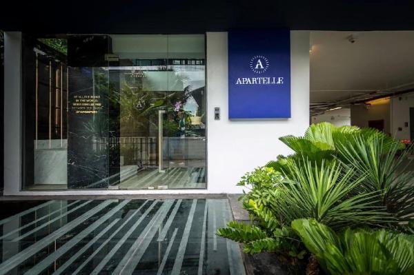 Apartelle Jatujak hotel Superior Twin BR&&10 Bangkok