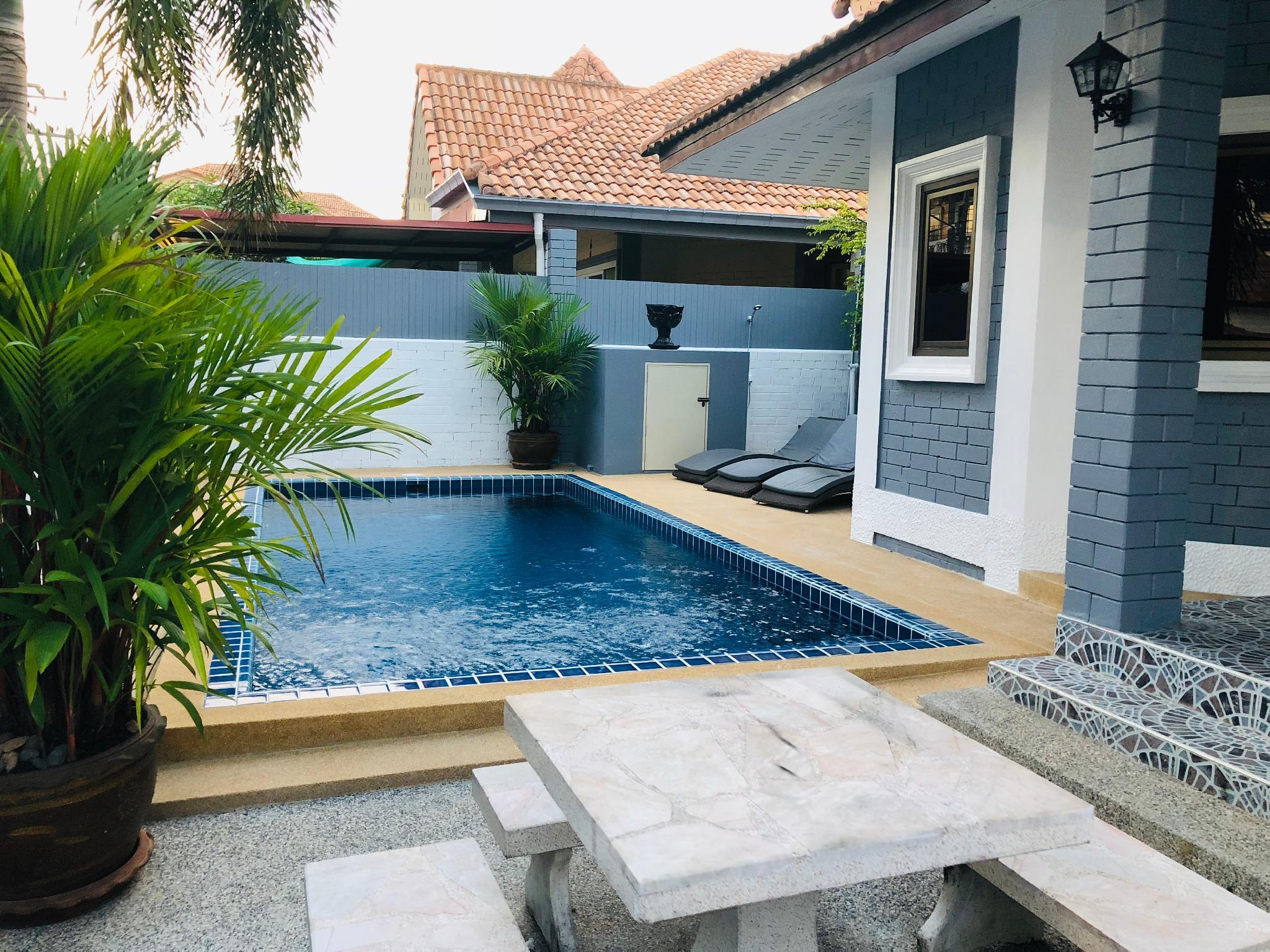 Villa 3 BDR With Pool Near Beach And Walking Street