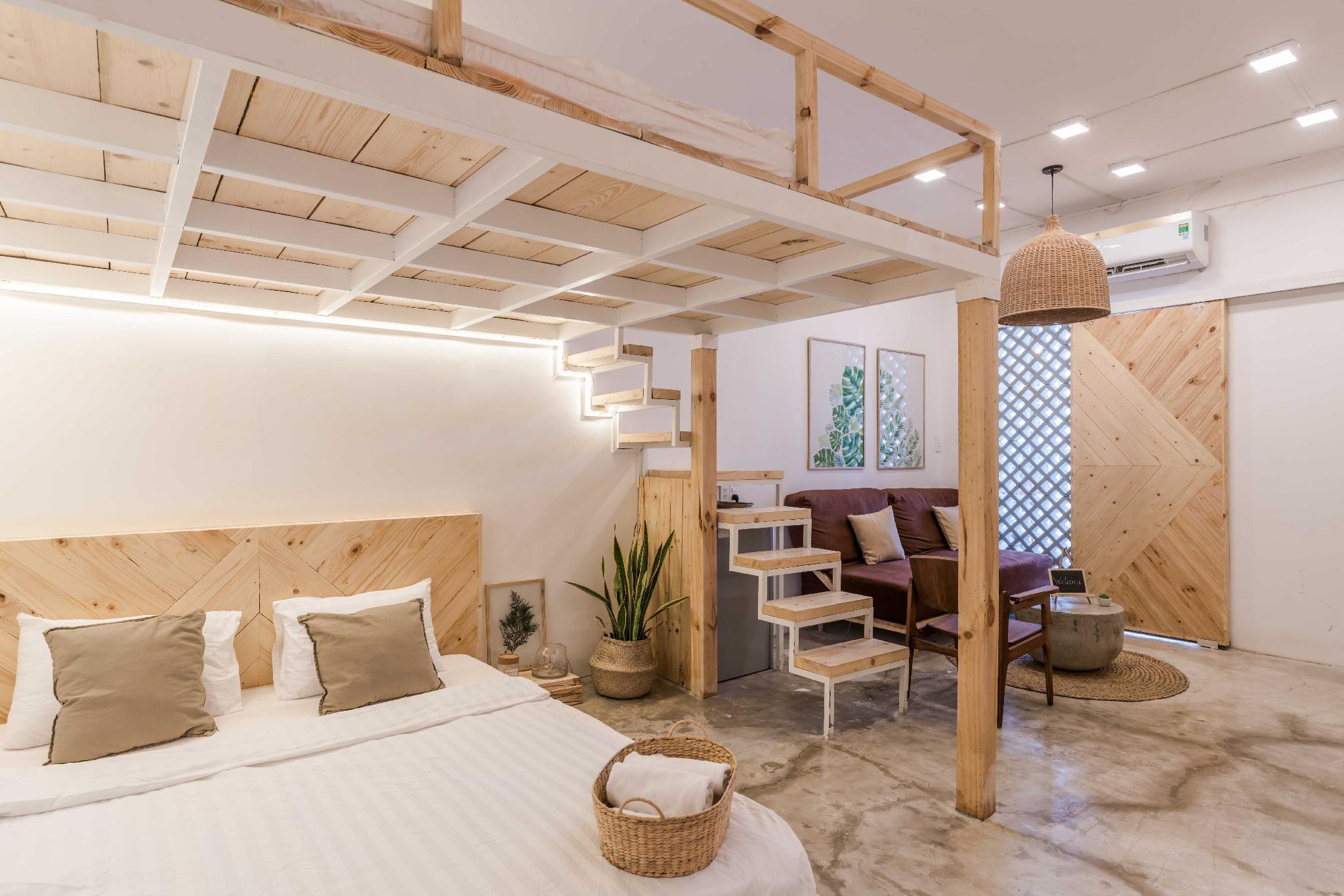 Saigon Center  Serene And Cozy Loft W Rooftop Patio