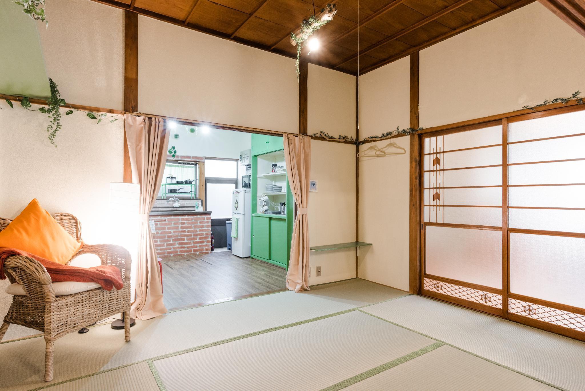 Hakone Ghibli Japanese Traditional House Cable Car