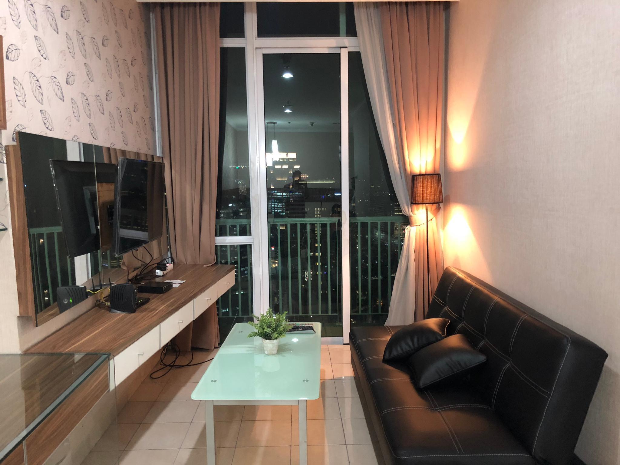 2 Bedrooms Spacious Apt @Kuningan Central Jakarta