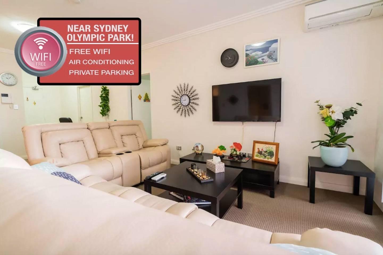 Sydney Olympic Park 3 BR Apartment W Parking