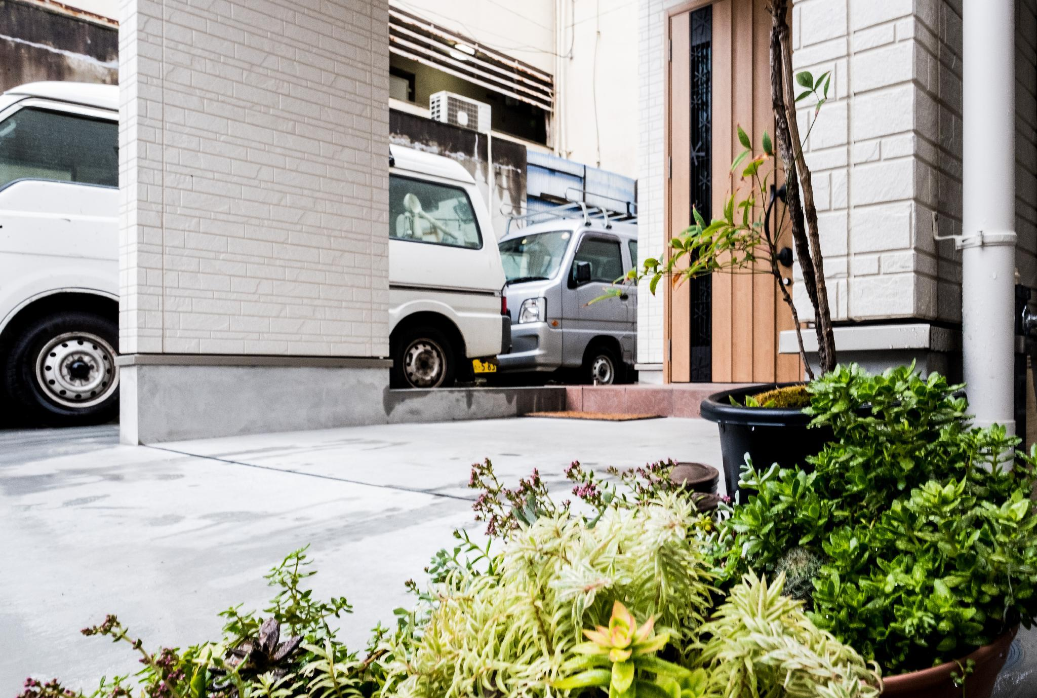 Tsutenkaku Walk Five Minutes New Family House