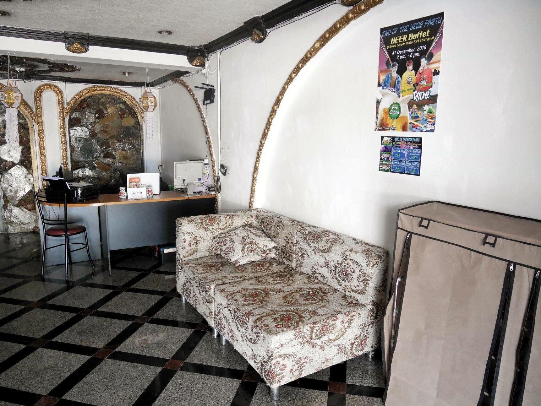 3.1 Rohan Guest House  Shared bathroom อพาร์ตเมนต์ 1 ห้องนอน 0 ห้องน้ำส่วนตัว ขนาด 25 ตร.ม. – ช้างคลาน