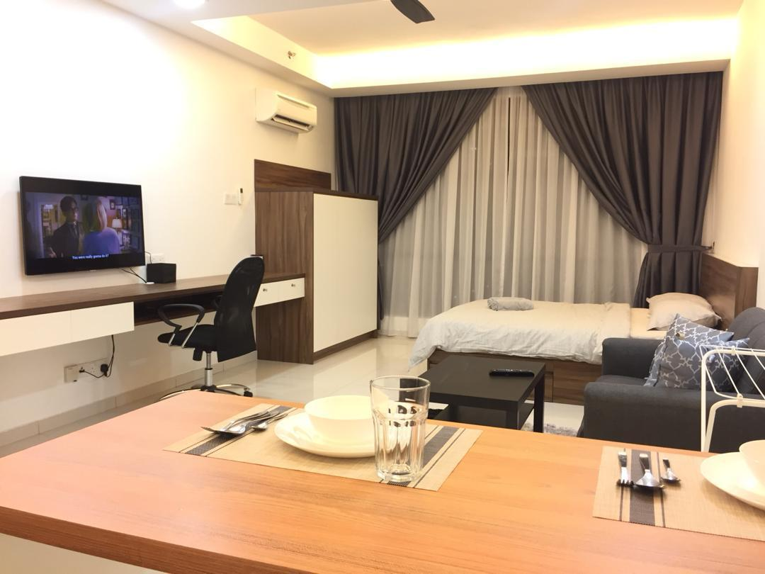 Cozy & Peaceful Studio At Seri Kembangan Near KL