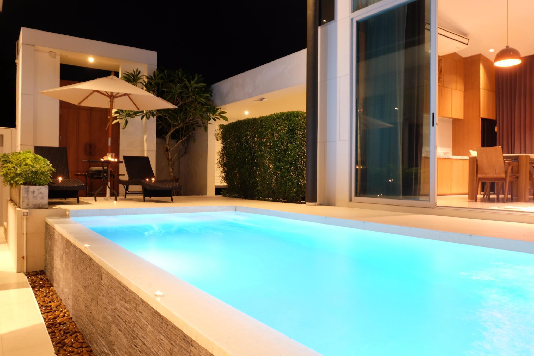 Tarton Bou Pool Villa Phuket วิลลา 3 ห้องนอน 3 ห้องน้ำส่วนตัว ขนาด 400 ตร.ม. – บางเทา