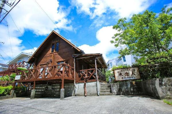 COZY LOG HOUSE/RICH IN NATURE/10people/FREE WiFi Okinawa Main island