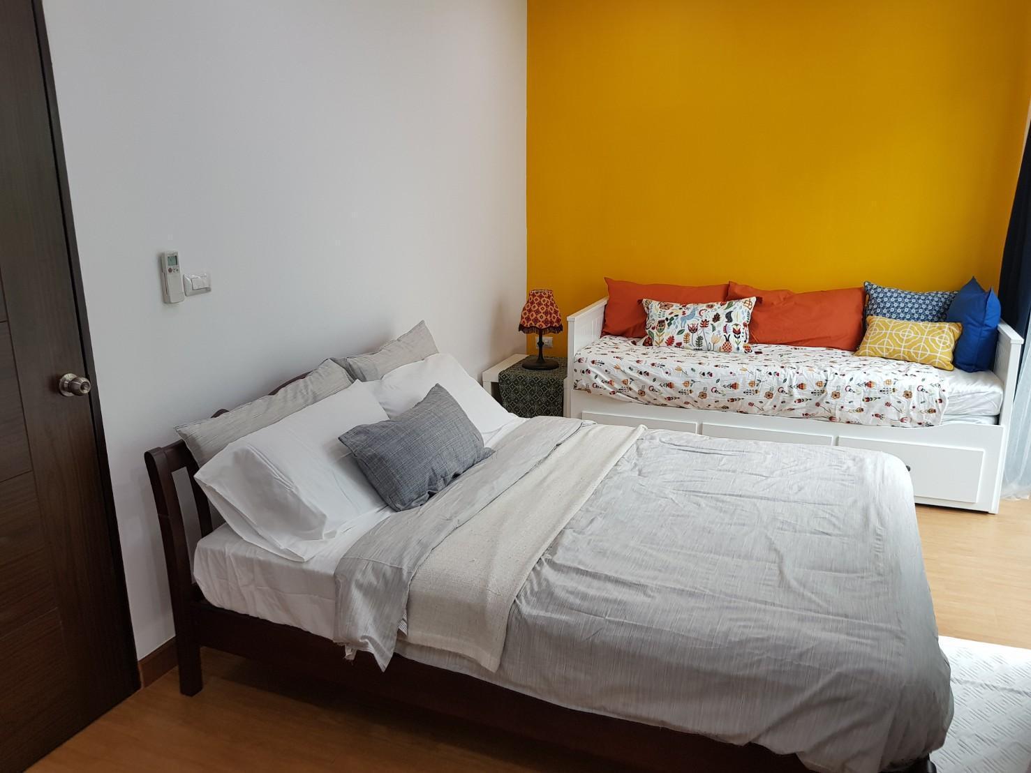 Saimai Hostel สตูดิโอ อพาร์ตเมนต์ 1 ห้องน้ำส่วนตัว ขนาด 18 ตร.ม. – สนามบินนานาชาติดอนเมือง