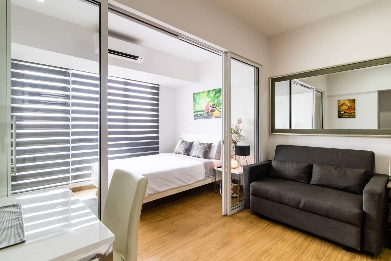 Comfy & Relaxing 1BR @ Acqua with Parking