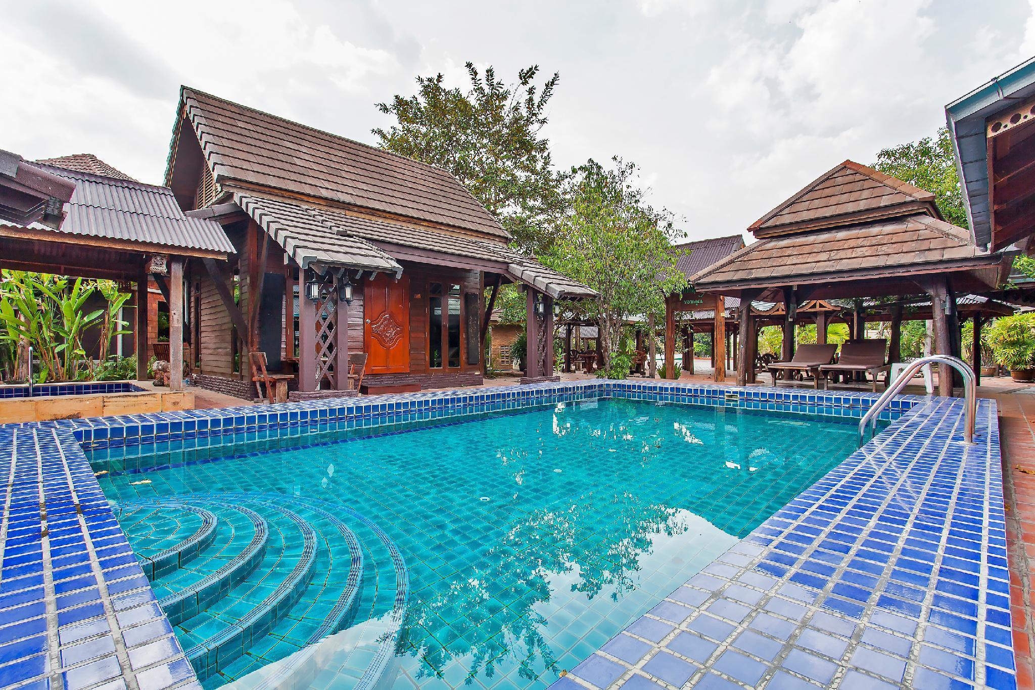 Serenity Gardens Resort 21 Bedroom w Pool and Gym วิลลา 21 ห้องนอน 21 ห้องน้ำส่วนตัว ขนาด 1900 ตร.ม. – มาบประชันเรเซอเวอร์
