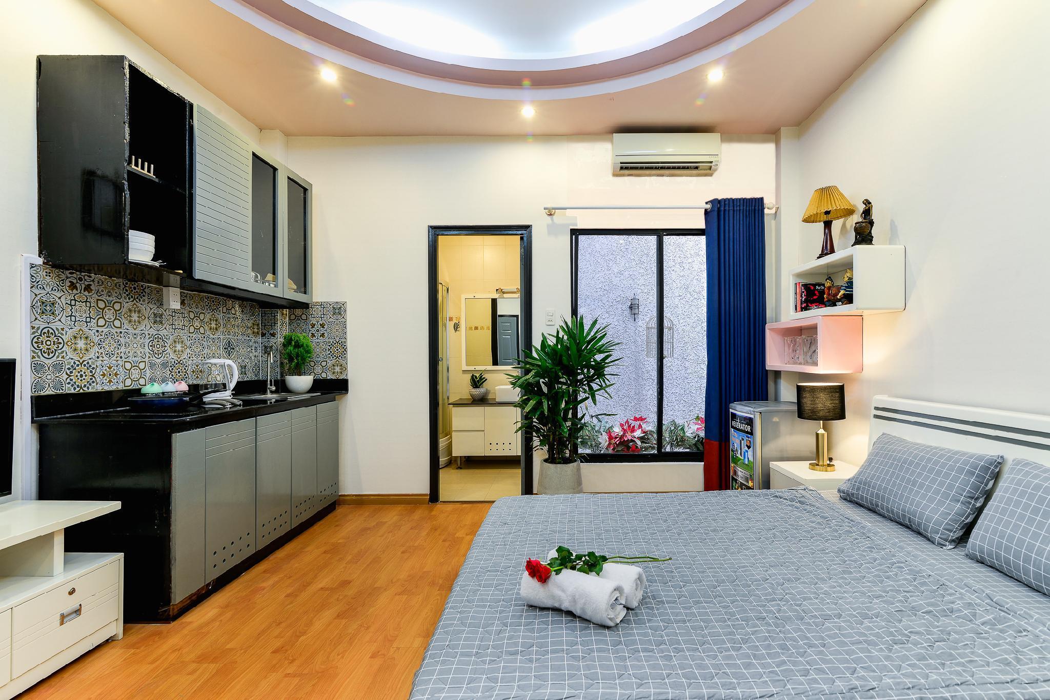 HCMC Inner Garden Budget Studio 5min To BuiVien 2