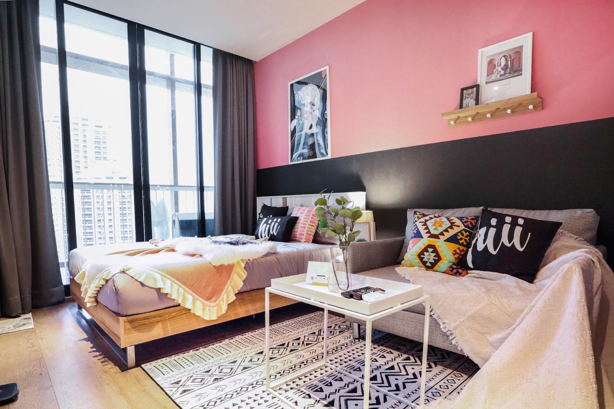 hiii GorgeousSunsetView At23F/Gym-BKK102 อพาร์ตเมนต์ 1 ห้องนอน 1 ห้องน้ำส่วนตัว ขนาด 29 ตร.ม. – สุขุมวิท