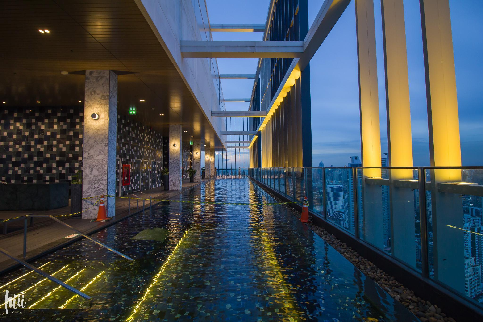 【hiii】GorgeousSunsetView At23F/FreePool&Gym-BKK094 อพาร์ตเมนต์ 1 ห้องนอน 1 ห้องน้ำส่วนตัว ขนาด 32 ตร.ม. – สุขุมวิท