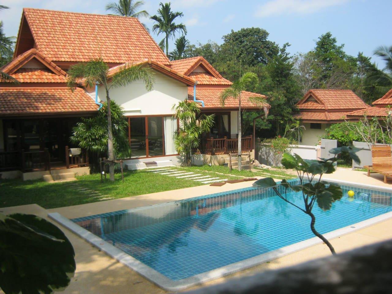 Baan Saowanee Orchard View Pool Villa  3 Bedroom