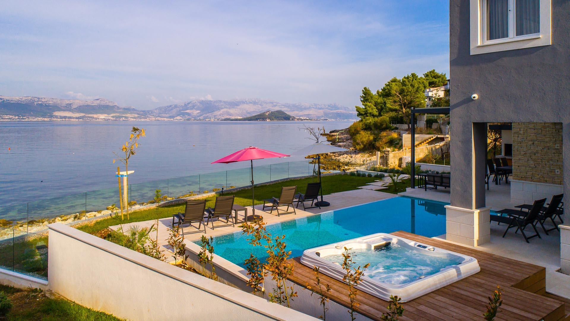 Luxurious Beachfront Villa Paradise EOS CROATIA
