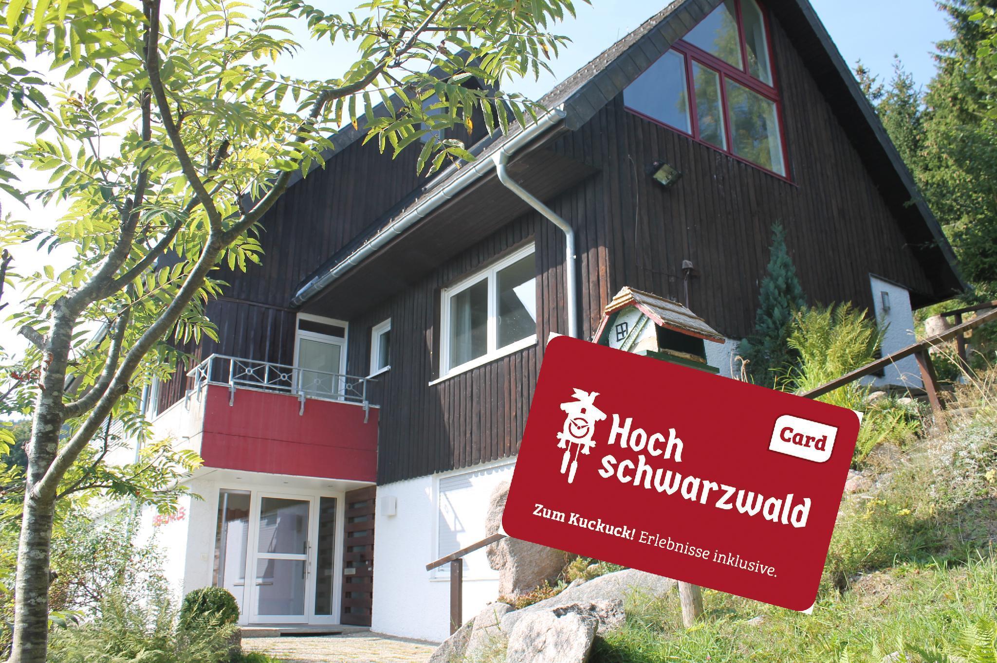2 Raum FERIENWOHNUNG In Baerental Hochschwarzwald