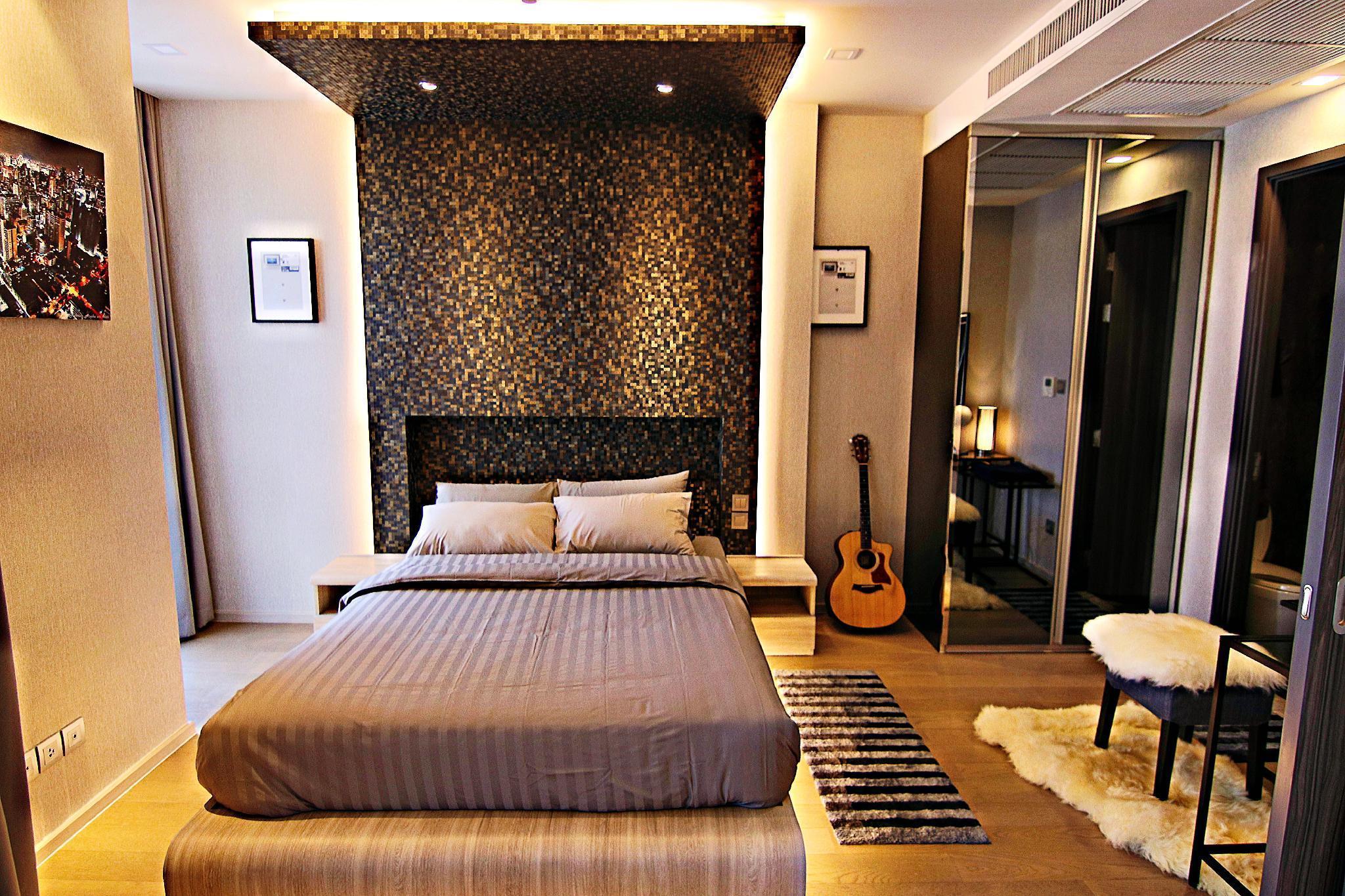 Luxurious & Romantic in the Heart of BKK#H MRT/BTS อพาร์ตเมนต์ 1 ห้องนอน 1 ห้องน้ำส่วนตัว ขนาด 35 ตร.ม. – สุขุมวิท