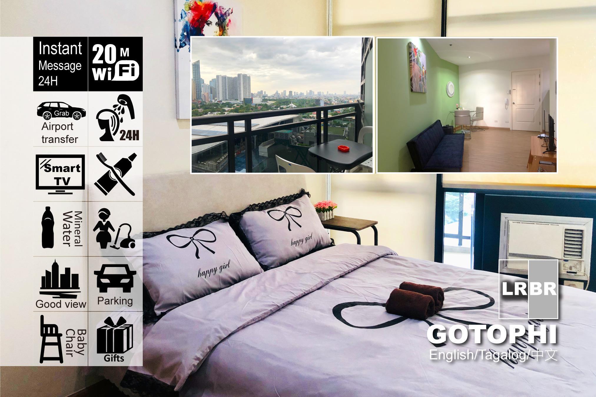 Gotophi 5Star Hotel 1BR Gramercy Makati 1407