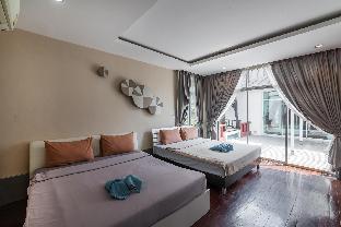 [ナージョムティエン]ヴィラ(500m2)| 6ベッドルーム/5バスルーム AnB Poolvilla 6BR close to Jomtien beach