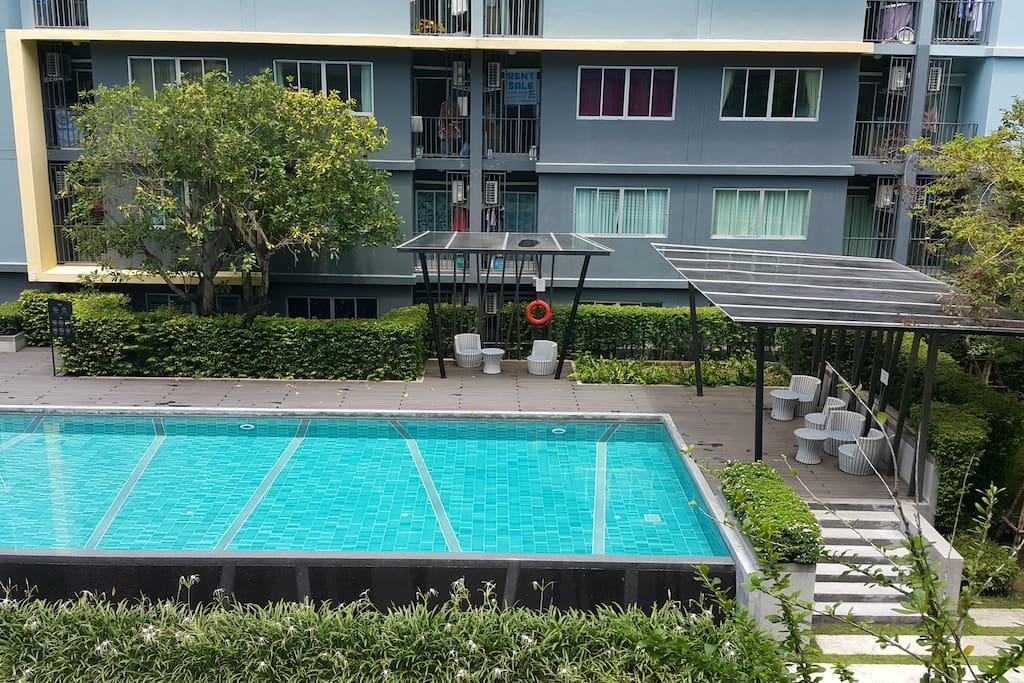 Nice Cozy Pool View W Kitchen CheapScooter4Rent 1
