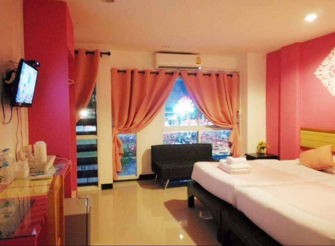 Delux Twin Room Boutique 5 Hotel @Chiangkham