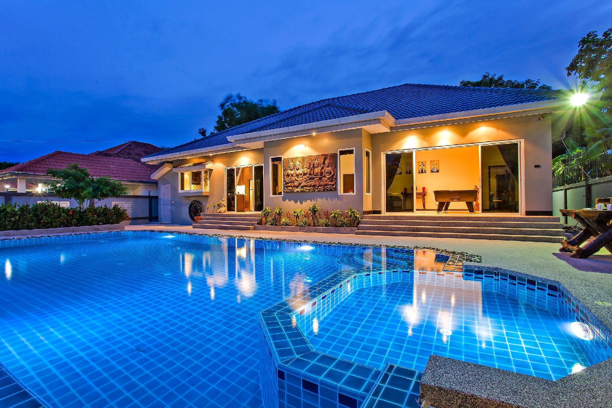 Baan Kinaree | 5 Bed Pool Villa Jomtien Beach วิลลา 5 ห้องนอน 5 ห้องน้ำส่วนตัว ขนาด 207 ตร.ม. – หาดจอมเทียน