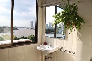 [バンコクリバーサイド]スタジオ アパートメント(67 m2)/1バスルーム Amazing 180 DEGREE River View Near MRT/ Train