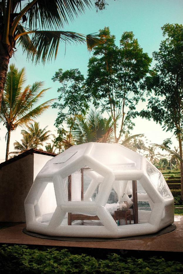 Jungle Bubble Lodge Ubud , stay with Nature