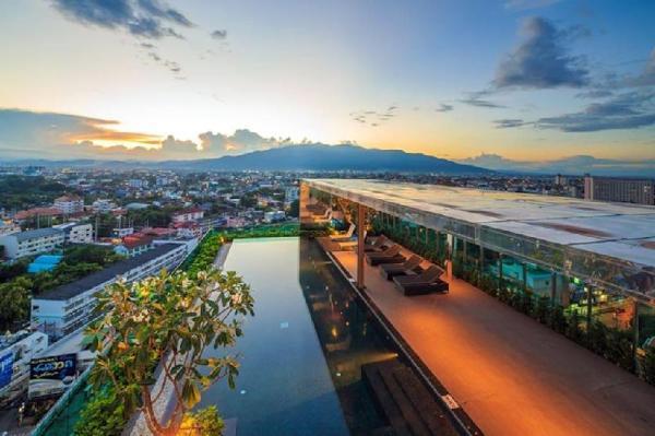 The astra condo,night bazaar,close old city Chiang Mai