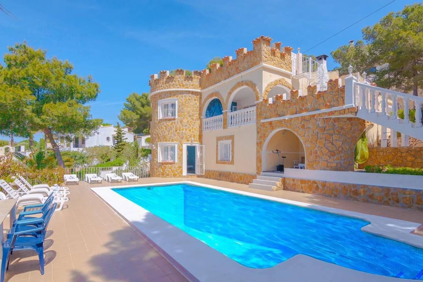 Villa In Moraira  With Stunning Sea View
