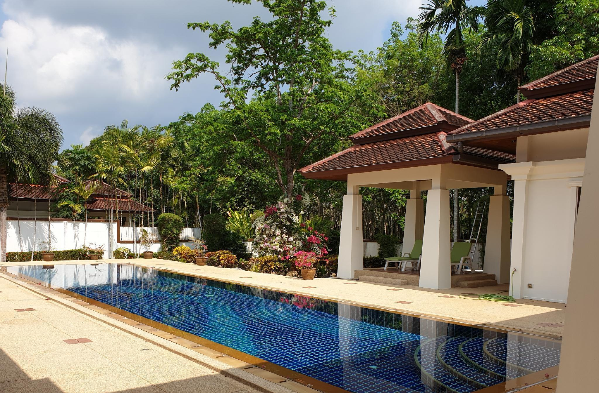 Garden Villas - A luxury oasis วิลลา 4 ห้องนอน 4 ห้องน้ำส่วนตัว ขนาด 600 ตร.ม. – อำเภอถลาง